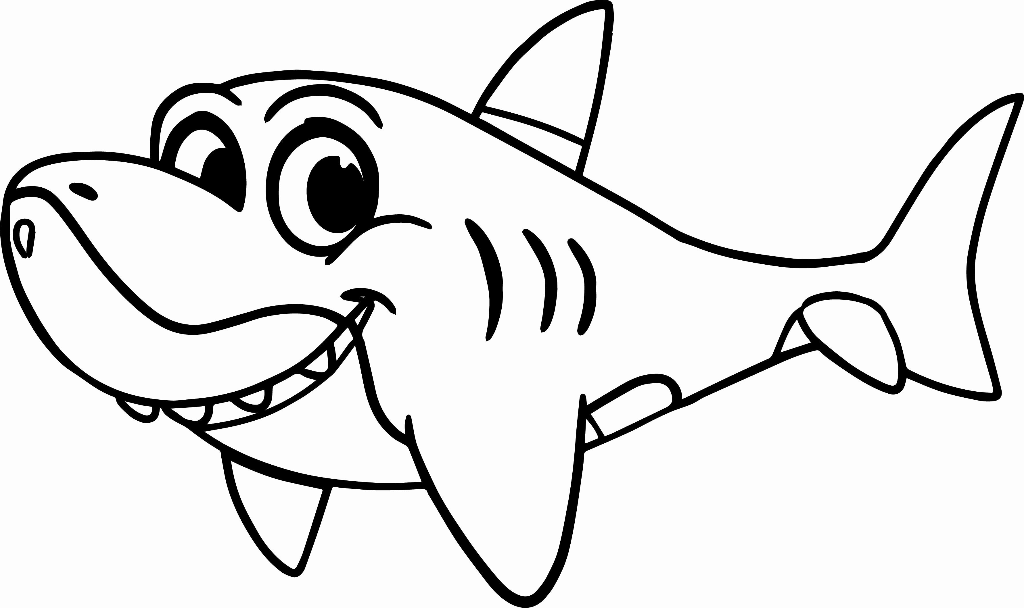 30+ Wonderful Photo of Coloring Pages Sharks