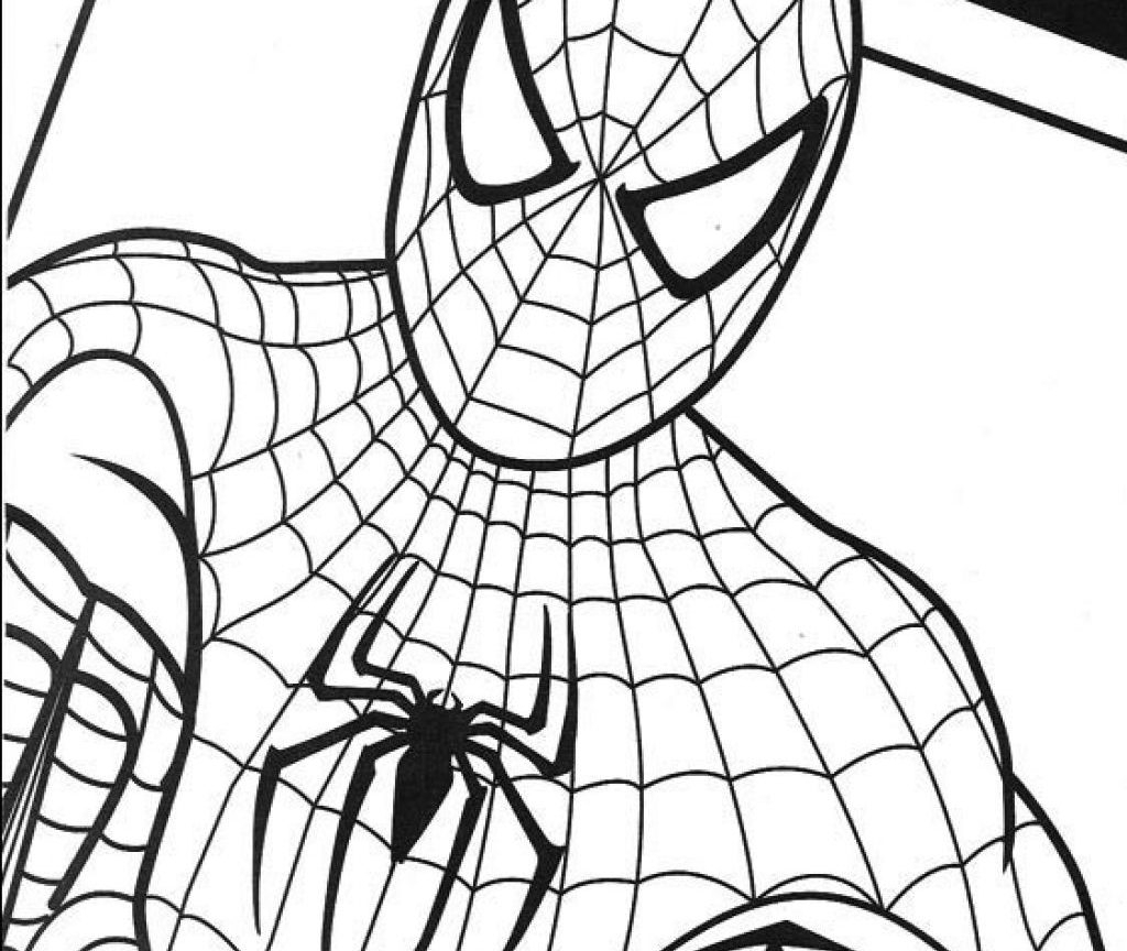 Coloring Pages Spiderman Spiderman Coloring Pages To Print At Getdrawings Free For