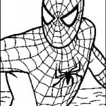 Coloring Pages Spiderman Spiderman Free Coloring Pages Online Potentialplayers Throughout