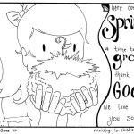 Coloring Pages Spring 2 Spring Coloring Pages Easy Pdf Print 100 Free