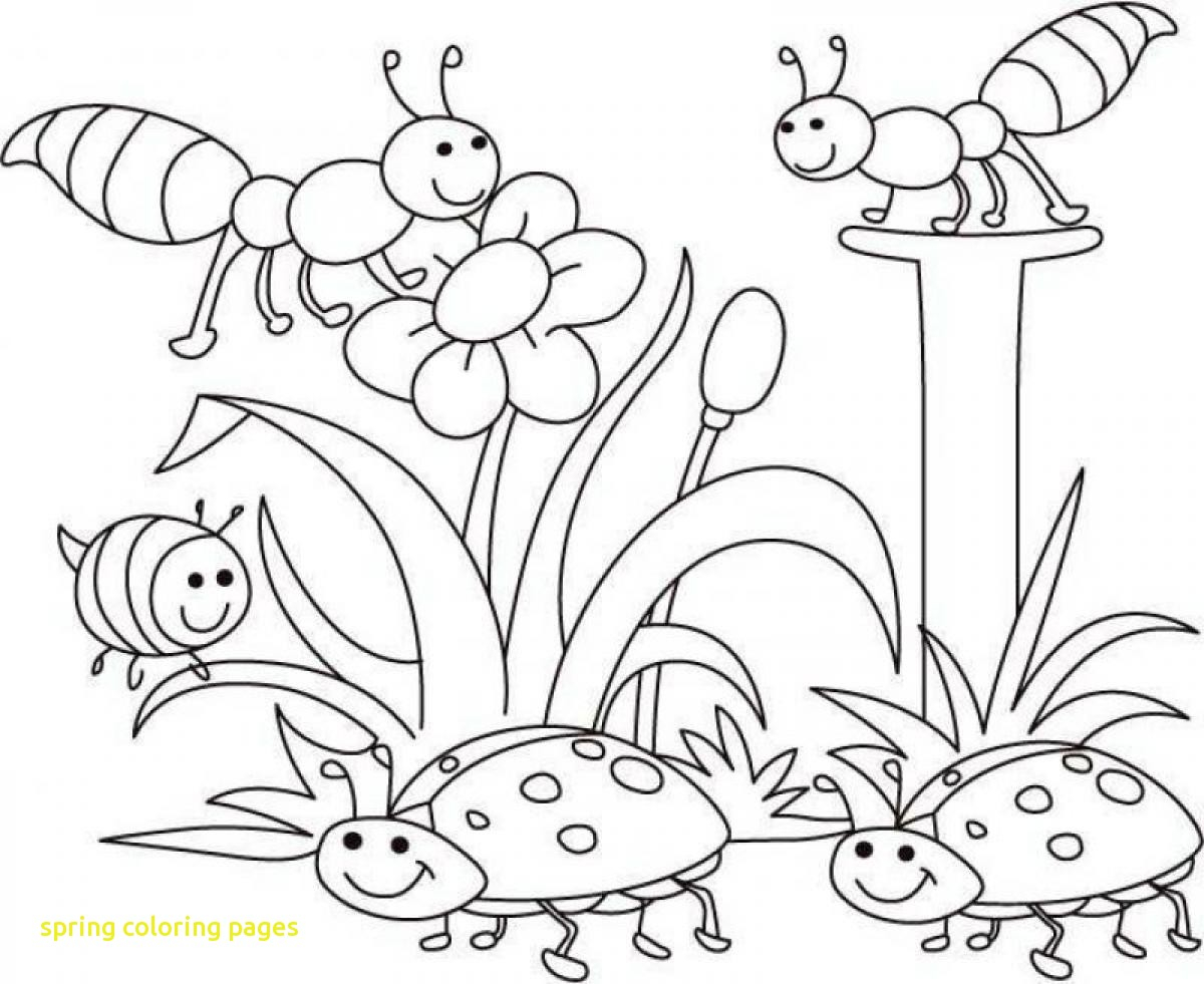 Coloring Pages Spring Coloring Pages Spring Coloring Book