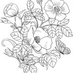 Coloring Pages Spring Spring Flowers Coloring Page Free Printable Coloring Pages