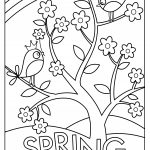Coloring Pages Spring Sweet And Sunny Spring Easter Coloring Pages Thanksgiving