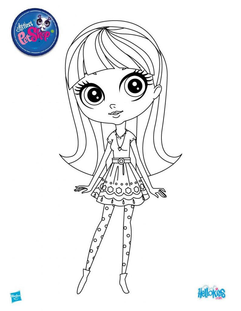 Coloring Pages To Color Online For Free Edge Littlest Pet Shop Coloring Pages To Color Online For Free