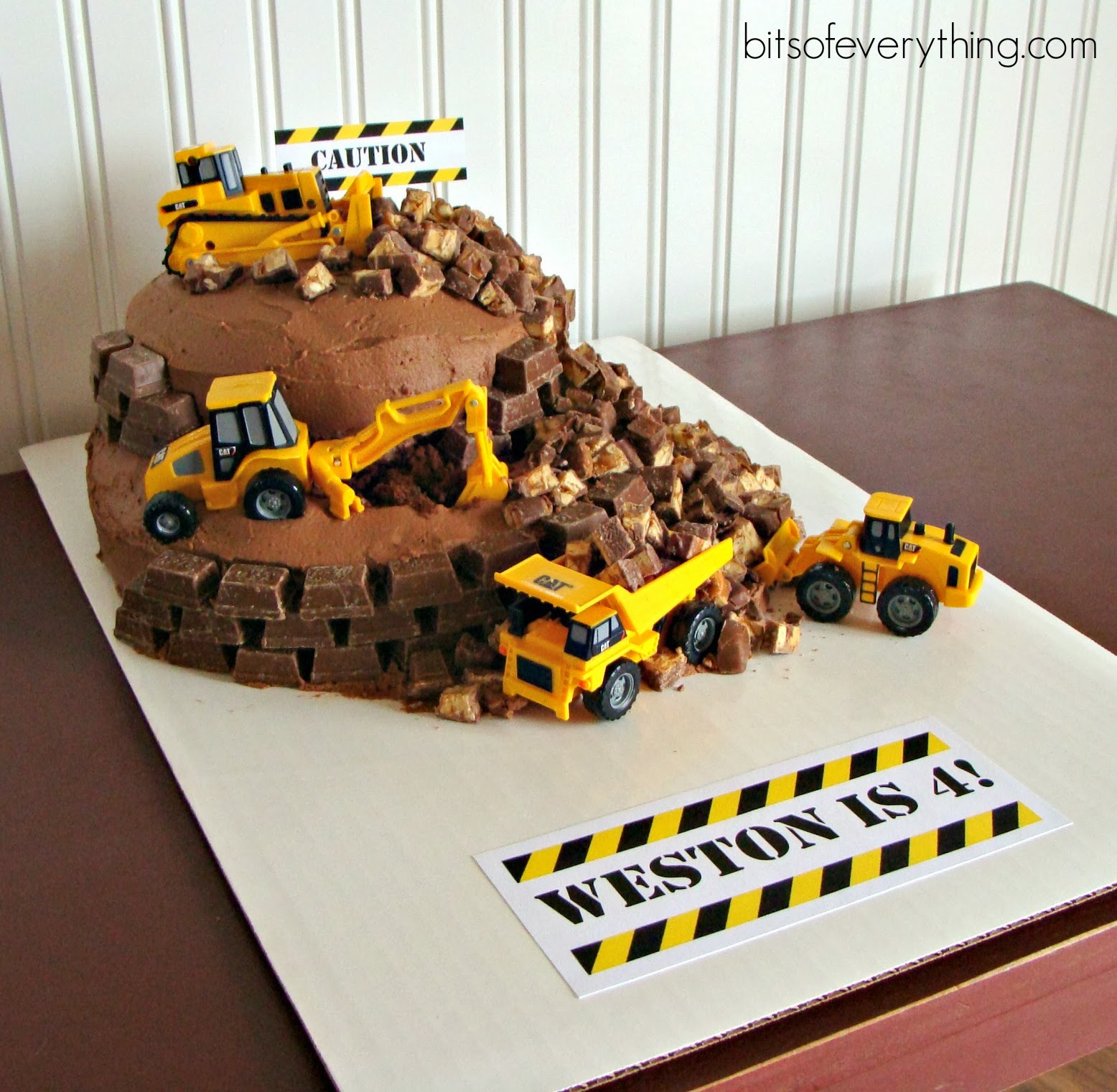 Construction Birthday Cakes Construction Birthday Cake Bits Of Everything