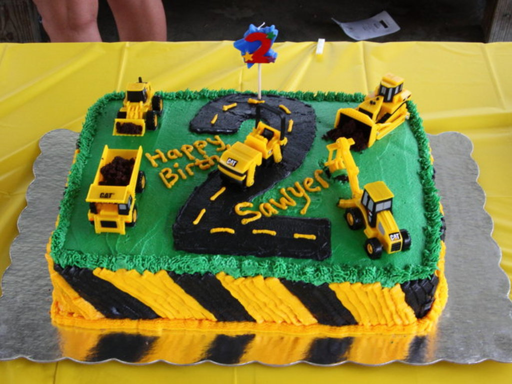 Construction Birthday Cakes Construction Birthday Cake Cakecentral