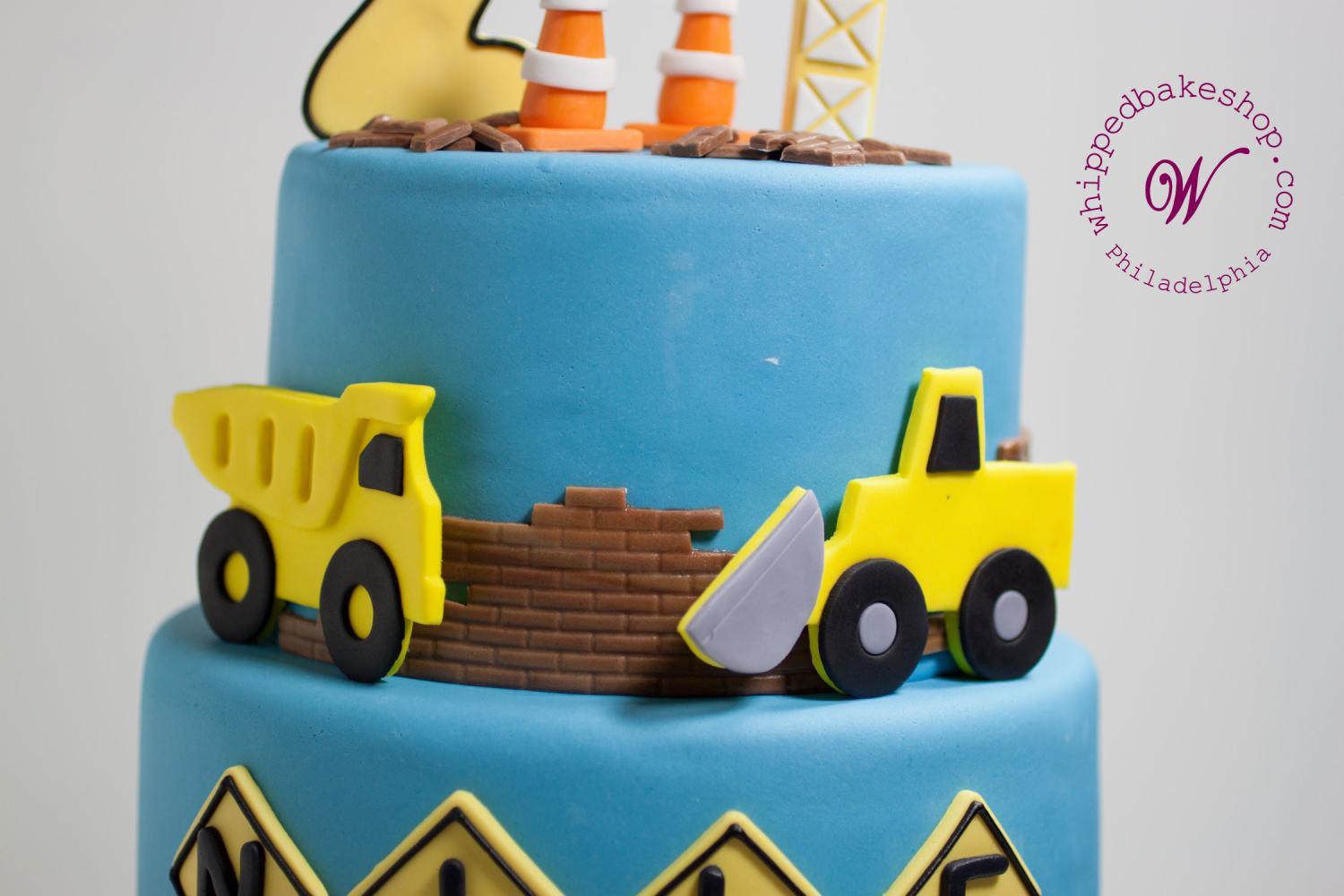 Construction Birthday Cakes Construction Birthday Cake Whipped Bakeshop Philadelphia