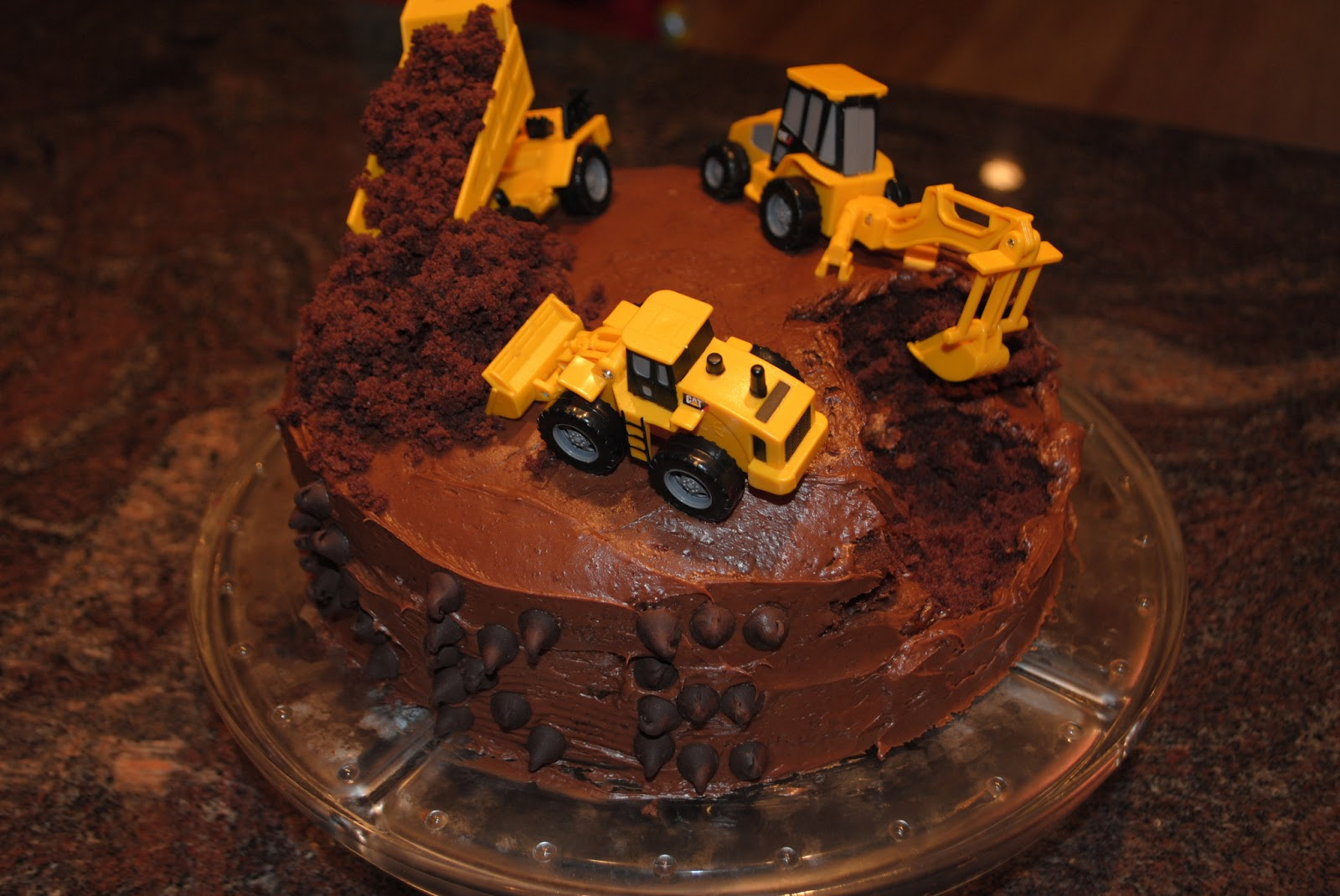 Construction Birthday Cakes Two It Yourself Diy Construction Birthday Cake In 3 Steps Bake