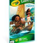 Crayola Giant Coloring Pages Crayola Giant Coloring Pages Moana Joann
