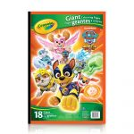 Crayola Giant Coloring Pages Crayola Giant Colouring Pages Paw Patrol Crayola Store