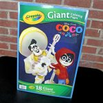Crayola Giant Coloring Pages Dan The Pixar Fan Coco Crayola Giant Coloring Book