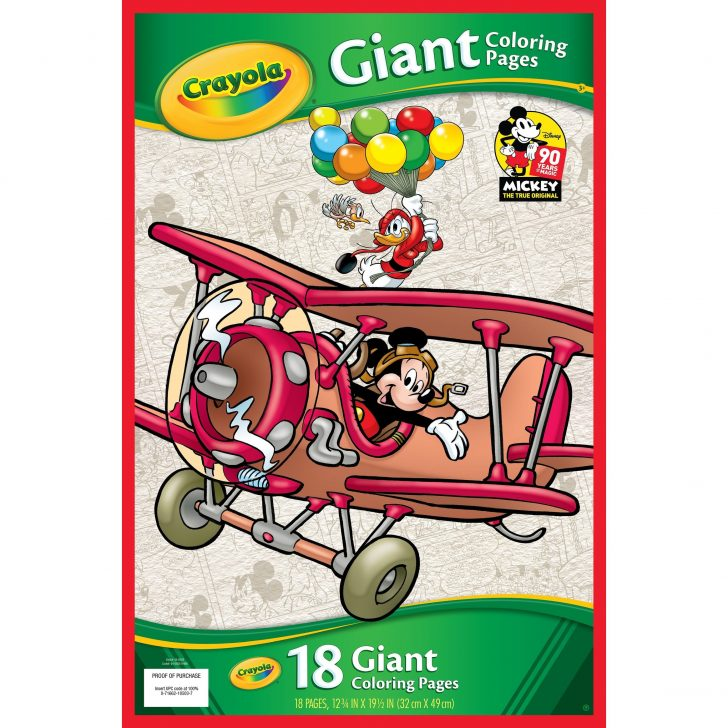 Crayola Giant Coloring Pages Shop Crayola Giant Coloring Pages 1275x195 Mickeys 90th