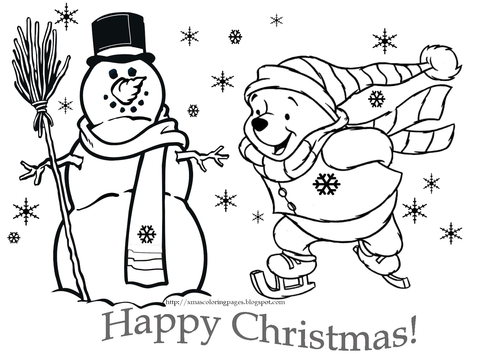 Cute Christmas Coloring Pages Cute Disney Christmas Coloring Pages Thanhhoacar