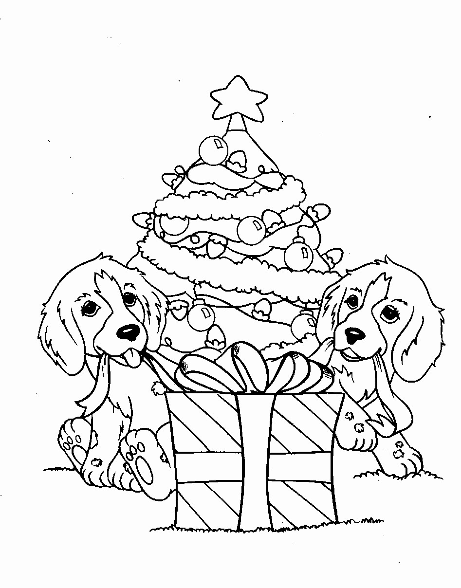 Cute Christmas Coloring Pages Free Coloring Pages Perfect Cute Christmas Animal Coloring Pages For