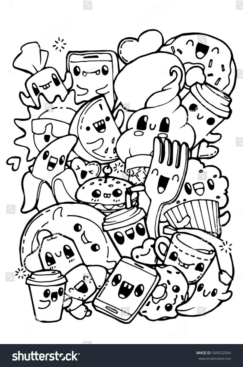 Cute Food Coloring Pages Big Space Free Cute Food Coloring Pages Voucher Codestop