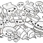 Cute Food Coloring Pages Cute Food Coloring Pages Many Snacks Free Printable Coloring Pages
