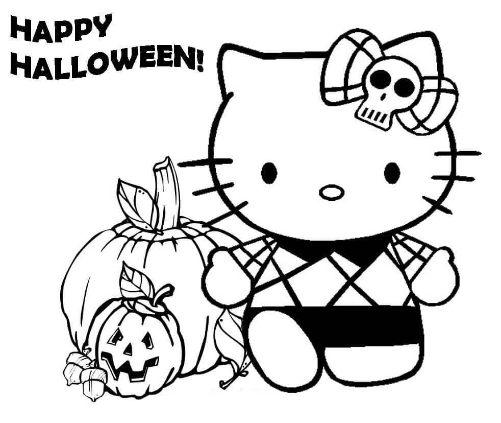 Cute Halloween Coloring Pages 30 Cute Halloween Coloring Pages For Kids