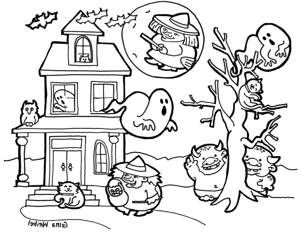 Cute Halloween Coloring Pages Cute Halloween Bat Coloring Pages Dreade
