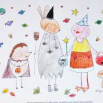 Cute Halloween Coloring Pages Cute Halloween Coloring Pages To Print And Color Skip To My Lou