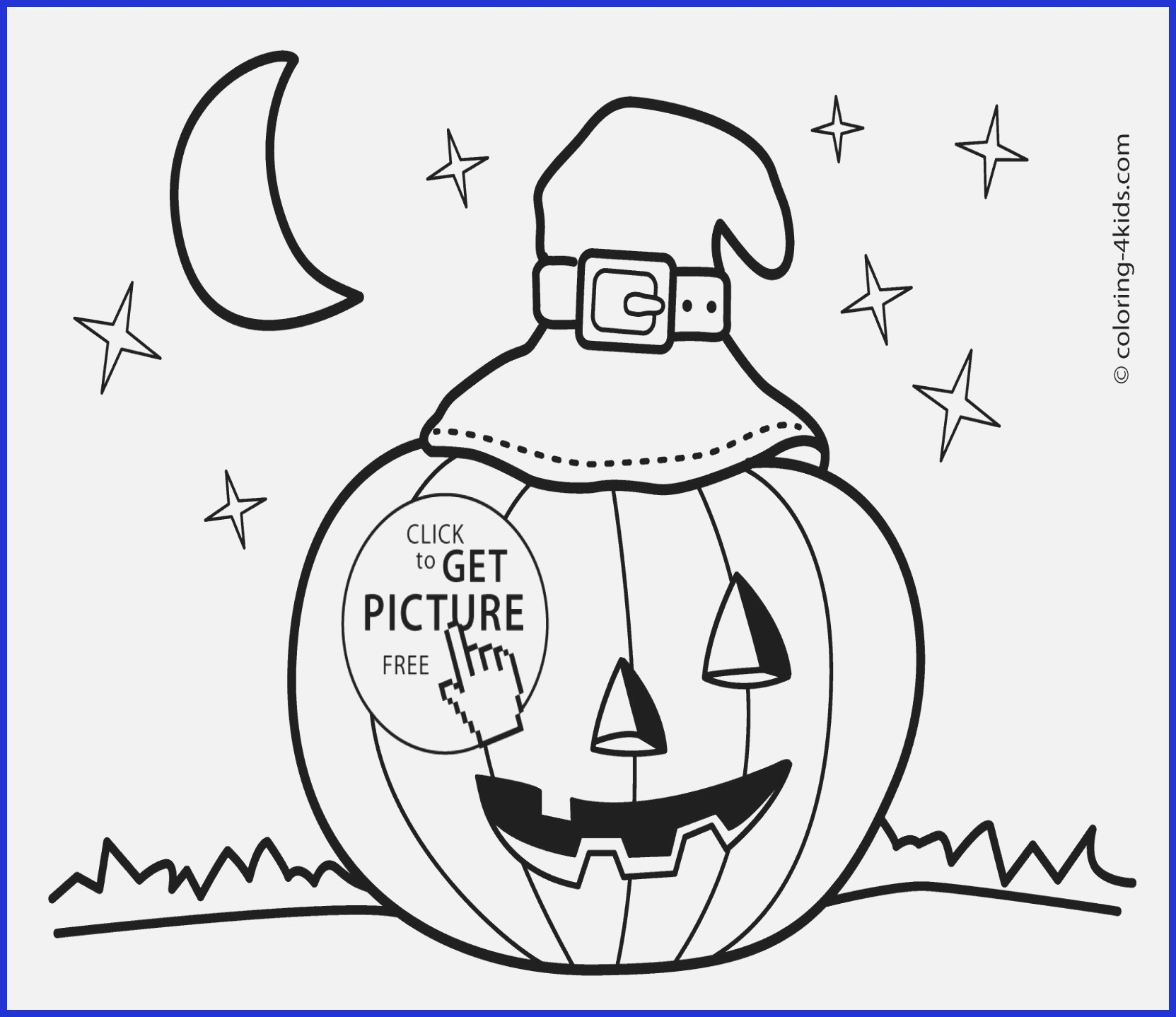 Cute Halloween Coloring Pages Scary Jack O Lantern Coloring Page For Jack O Lantern Color Page