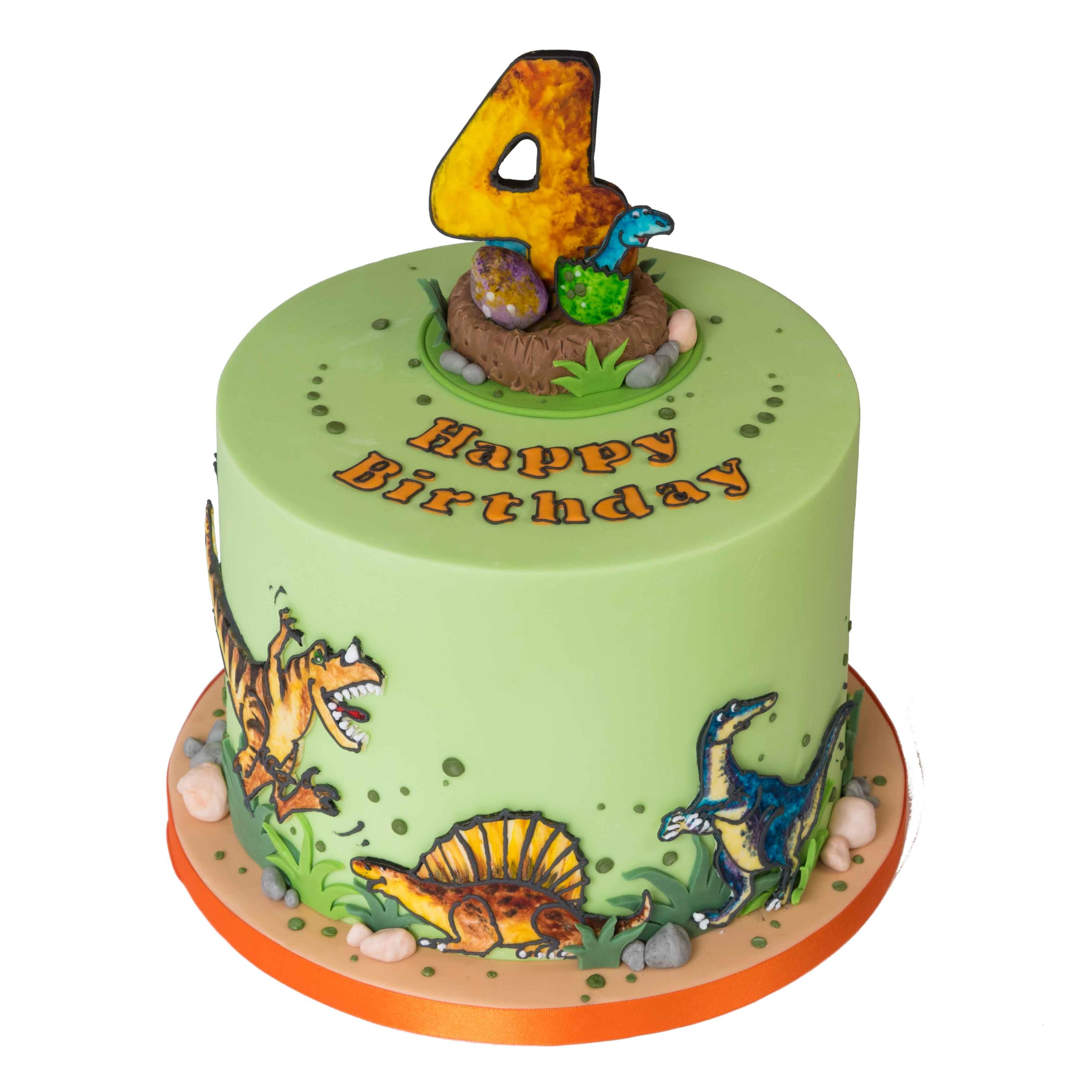 35+ Great Image of Dinosaur Birthday Cakes