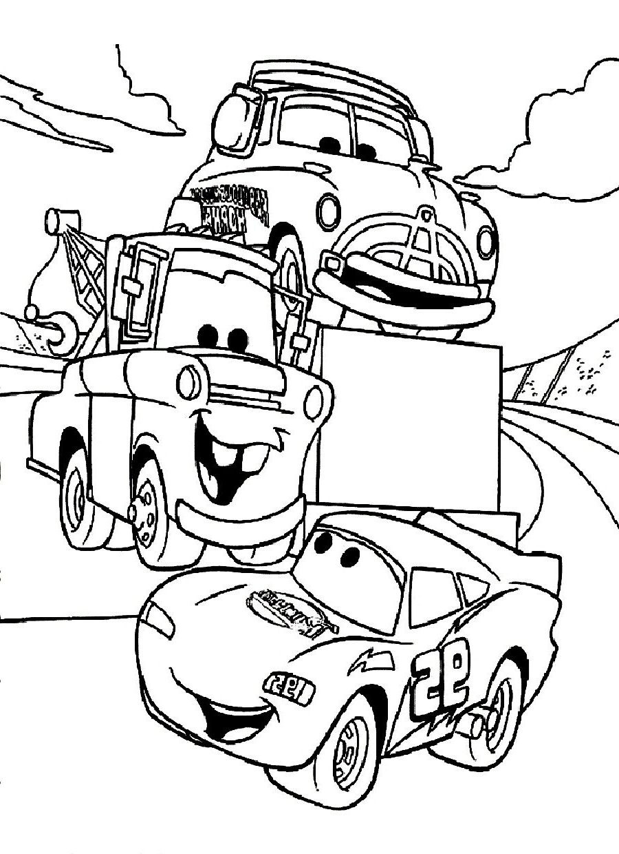 Disney Cars Coloring Pages Coloring Pictures Of Cars Pji8 Car Coloring Page Disney Cars