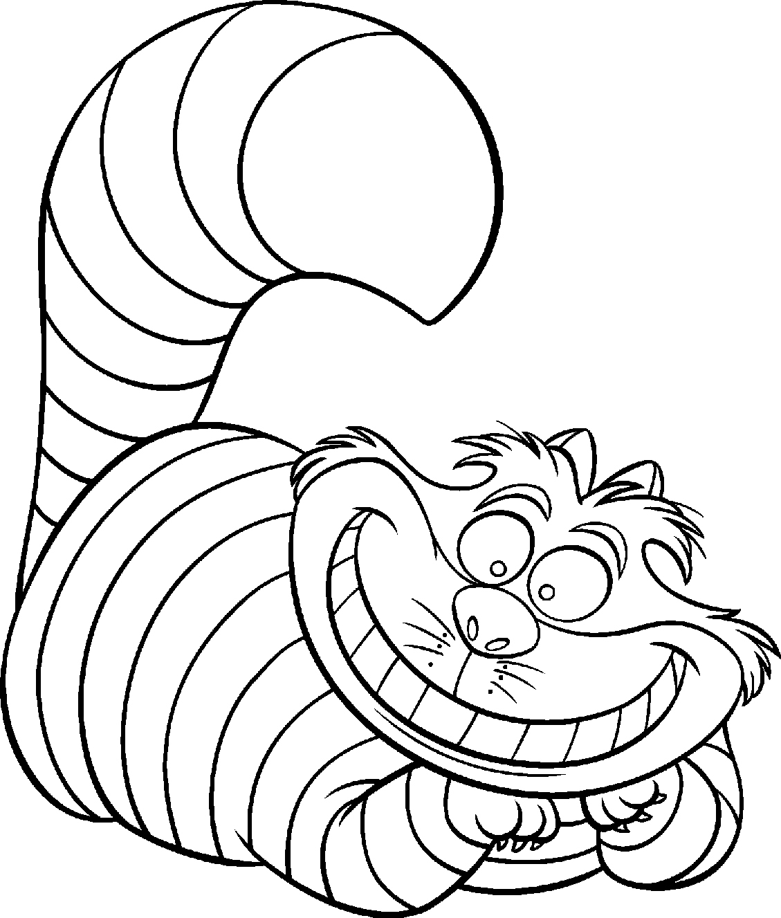 Disney Coloring Pages Free Cheshire Cat Coloring Pages Free Disney Adult Coloring Pages
