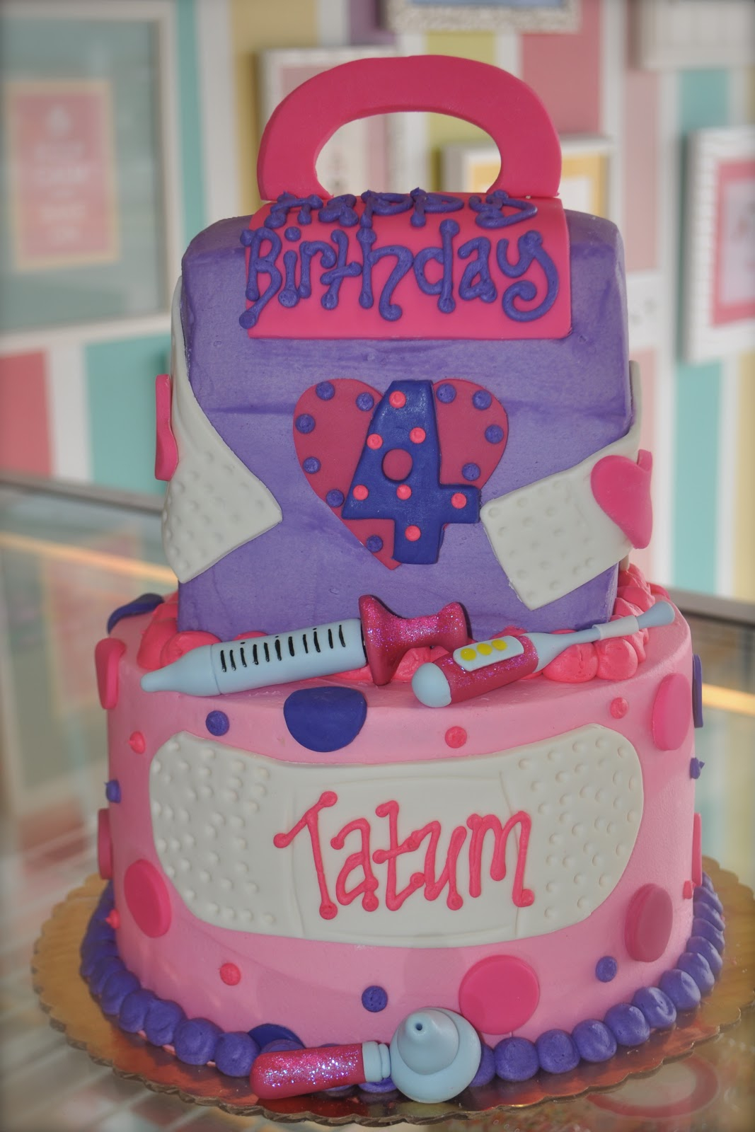 Doc Mcstuffin Birthday Cake Coolest Cupcakes Doc Mcstuffins Birthday Cake