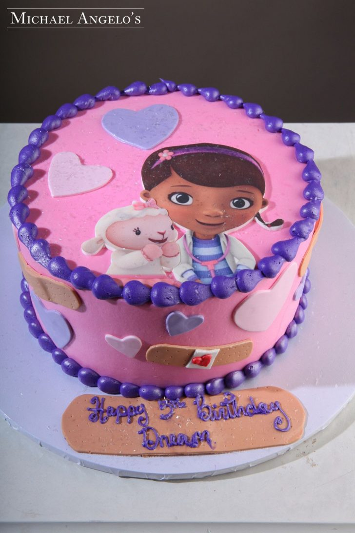 Doc Mcstuffin Birthday Cake Doc Mcstuffins Cake Small Google Search Doc Mcstuffin