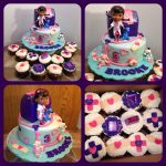 Doc Mcstuffins Birthday Cake 12 Doc Mcstuffins Cake And Cupcakes Photo Doc Mcstuffins Cupcake