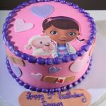 Doc Mcstuffins Birthday Cake Doc Mcstuffins Cake Small Google Search Doc Mcstuffin