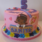 Doc Mcstuffins Birthday Cake Saniyas Doc Mcstuffins Birthday