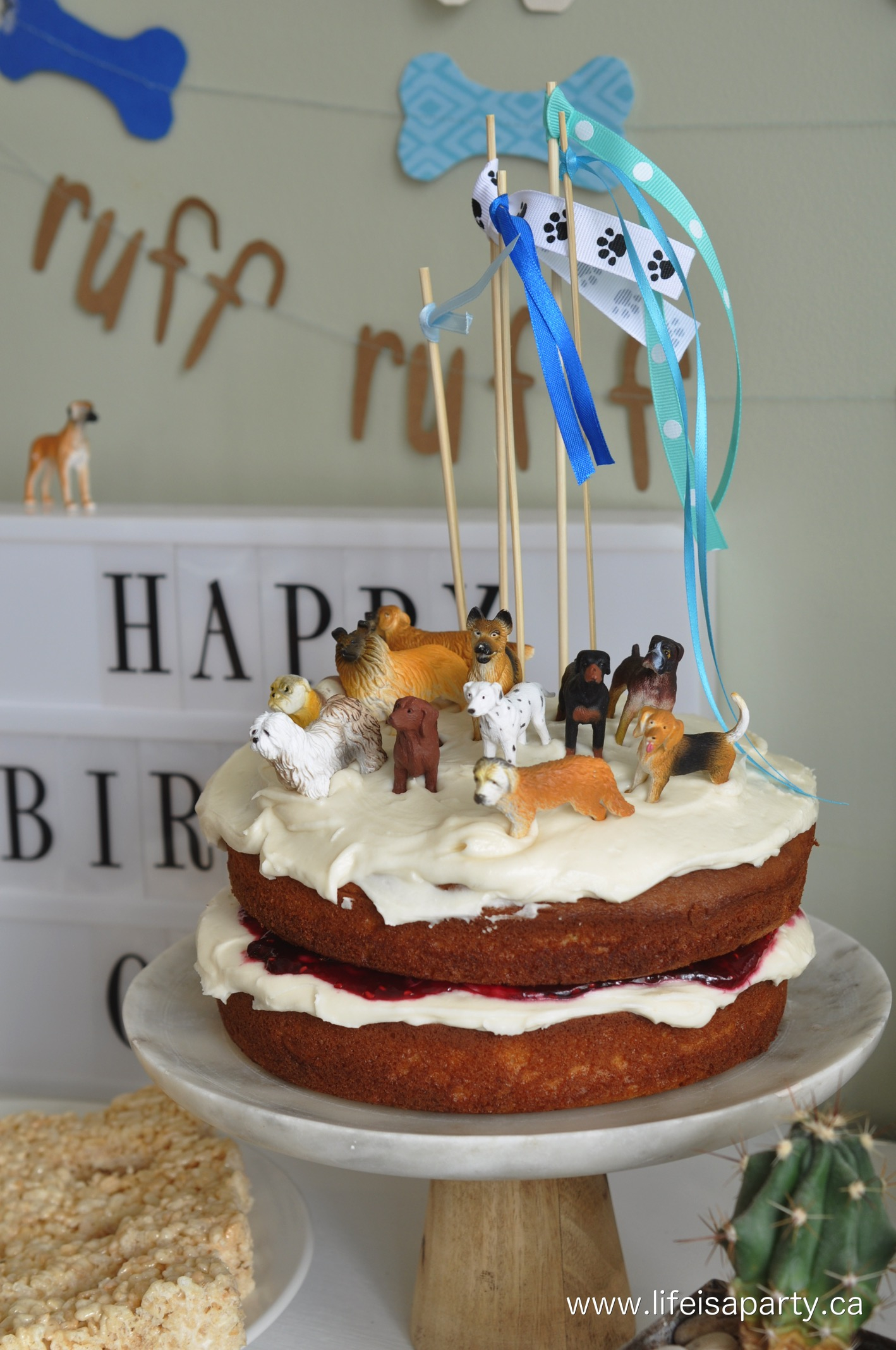 1418 X 2136 In 30 Brilliant Image Of Dog Themed Birthday Cake