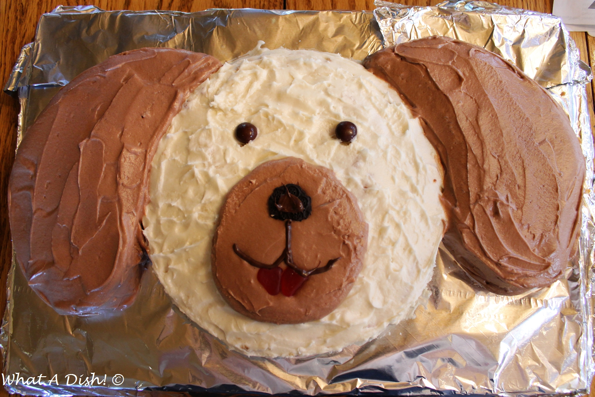 Dog Themed Birthday Cake What A Dish Puppy