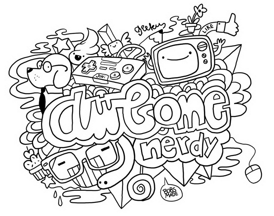 Doodle Art Coloring Pages Coloring Page Doodle Colorings Awesome Coloringstar 49 Doodle