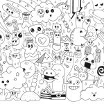 Doodle Art Coloring Pages Doodle Art Coloring Pages All Quotes Alley For 10001294 Attachment