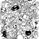 Doodle Art Coloring Pages Doodle Art Coloring Pages For Adults