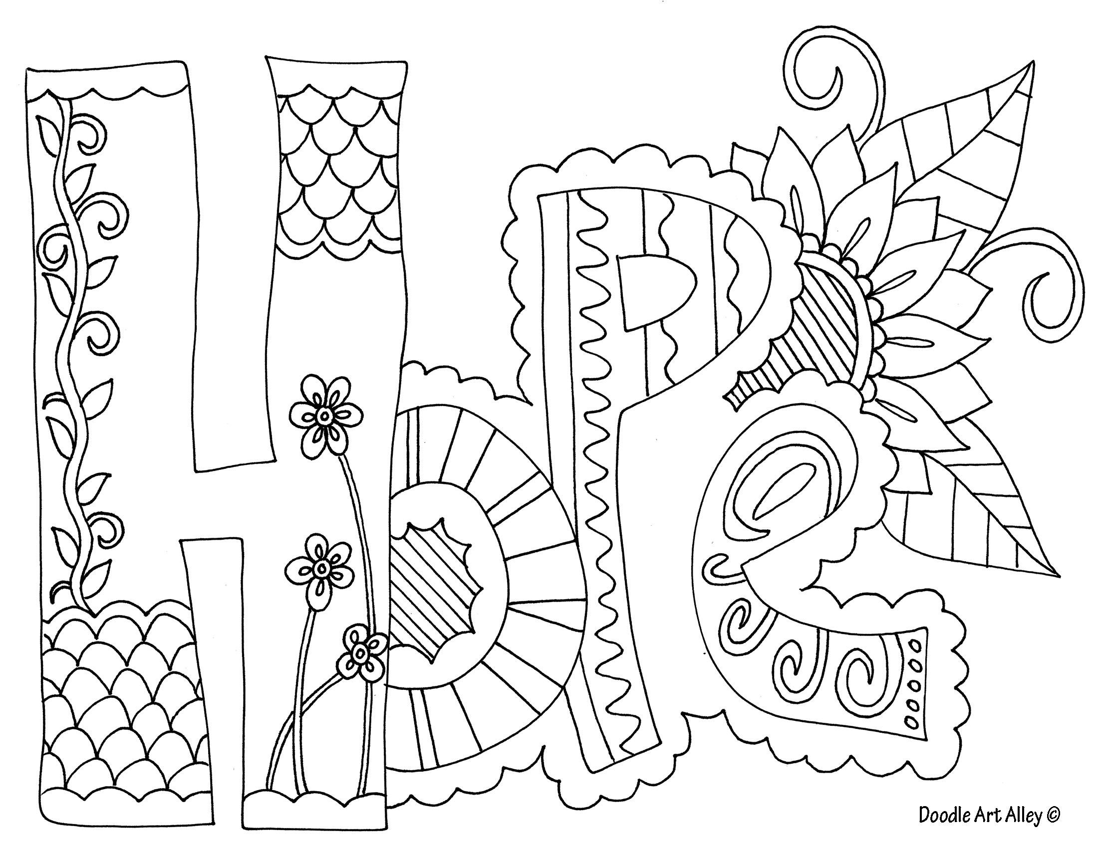Doodle Art Coloring Pages Doodle Art Coloring Pages New Gallery Sturdy Therapeutic Inside