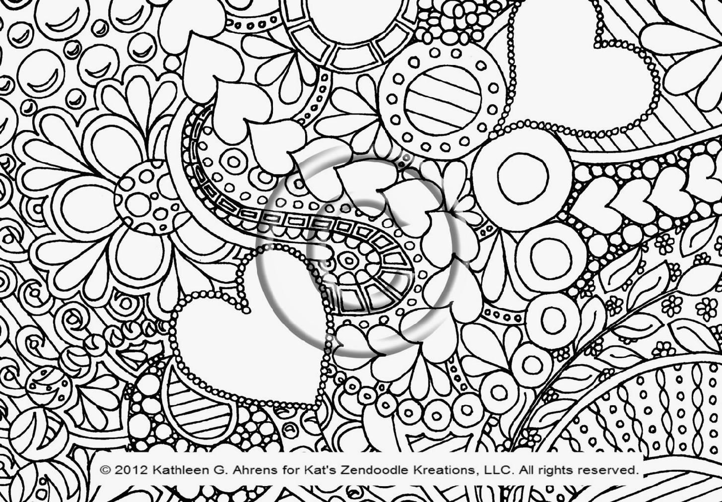 Doodle Art Coloring Pages Doodle Coloring Pages Wuming
