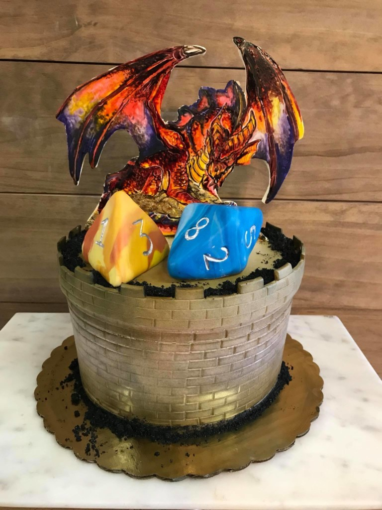 Dragon Birthday Cake 9 Epic Dungeons And Dragons Cakes Tip Junkie