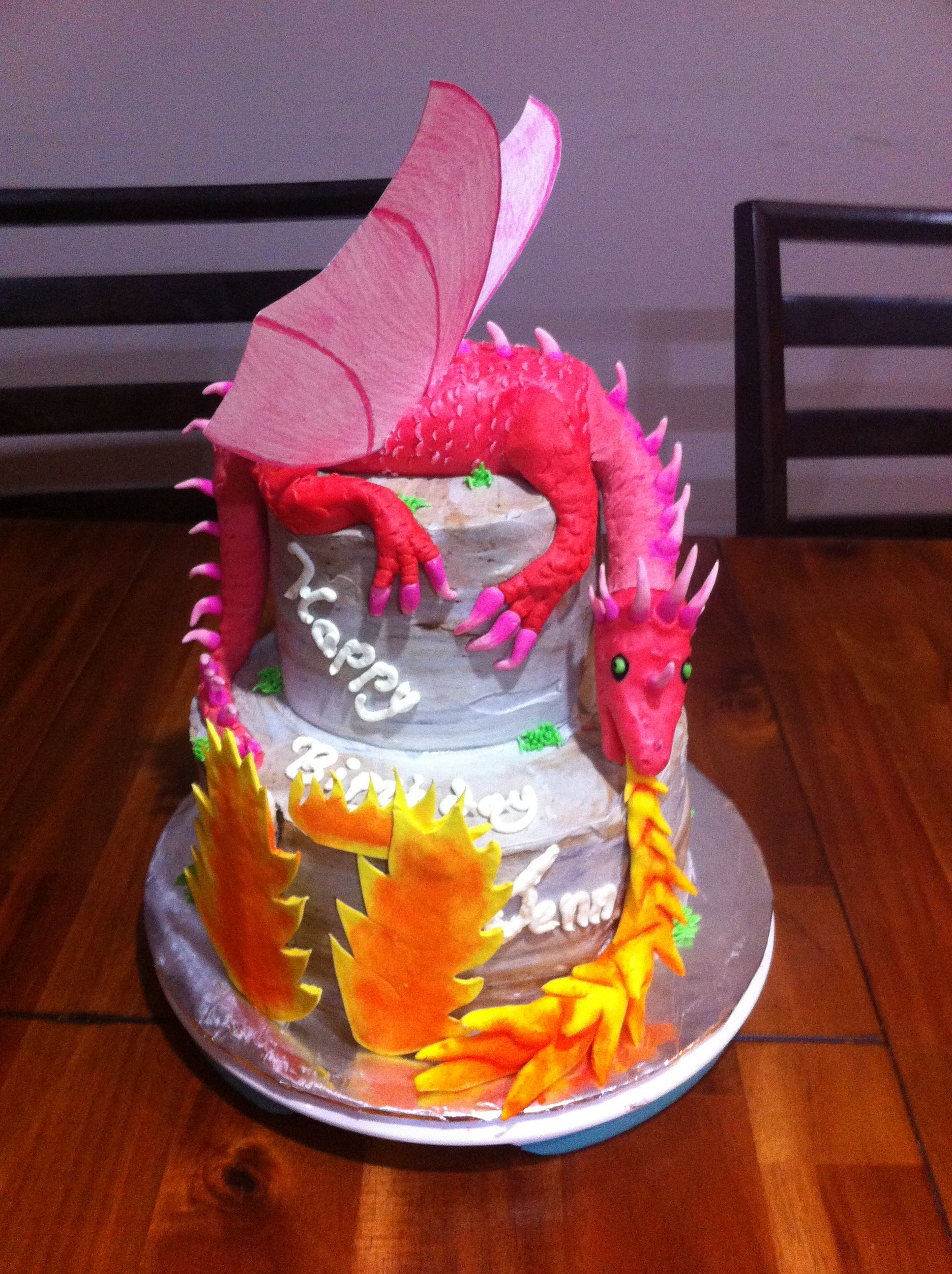 Dragon Birthday Cake Dragon Birthday Cake Big Mikes Big 5th Birthday In 2018