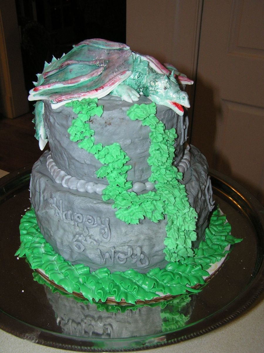 Dragon Birthday Cake Dragon Birthday Cake Cakecentral