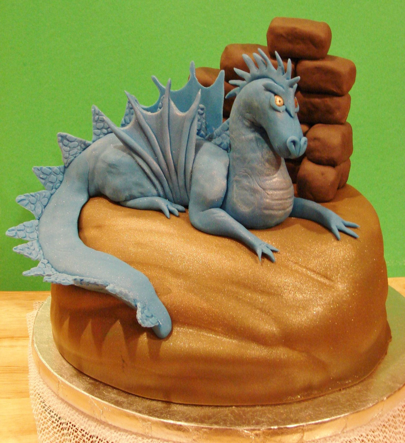 Dragon Birthday Cake Fierce Dragon Cake Fierce Looking Dragon Cake For A Friends Sons