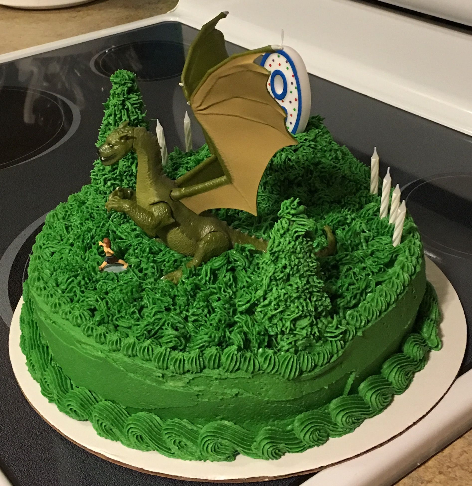 Dragon Birthday Cake Petes 2017 Channings 3rd Pinterest