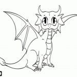 Dragon Coloring Pages Ba Dragon Coloring Pages To Download And Print For Free