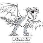 Dragon Coloring Pages How To Train Your Dragon Coloring Pages Monstrous Nightmare