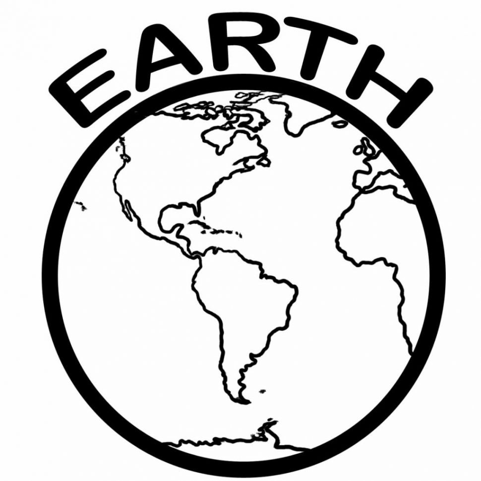 Earth Coloring Pages Printable Earth Coloring Pages Free Download Best Printable Earth