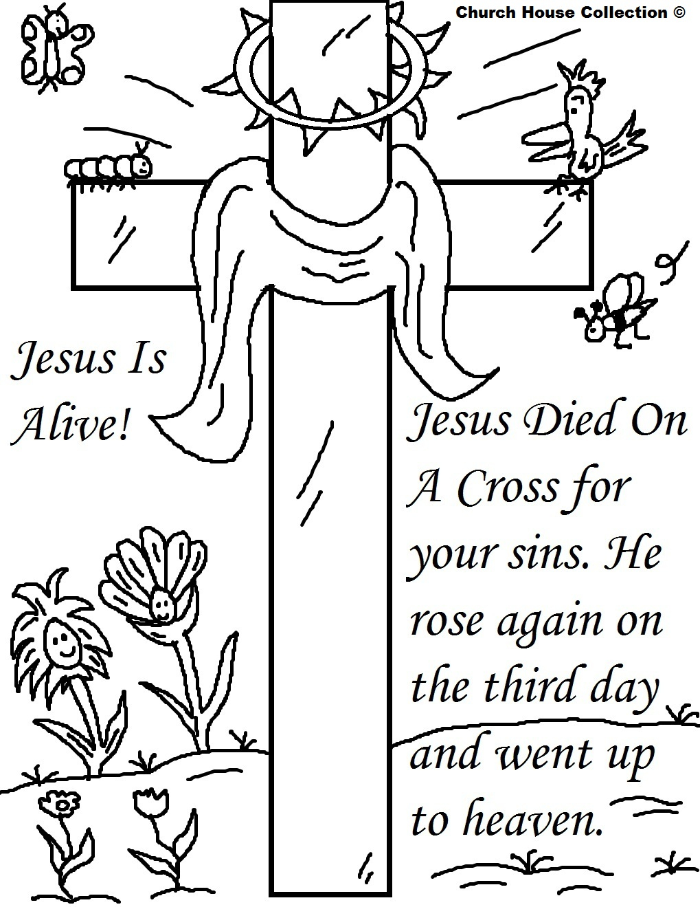 27+ Marvelous Picture of Easter Coloring Pages Religious