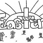 Easter Coloring Pages Religious Coloring Pages Religious Easter Coloring Pages With Free Christian