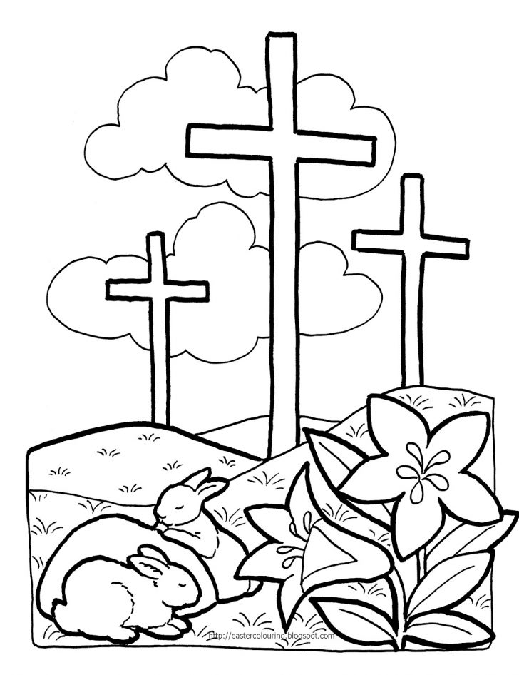 Easter Coloring Pages Religious Religious Easter Coloring Page Northern News